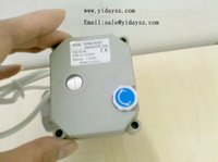 Wholesale Ways DN15 DC7 V wires SS304 ball valve with open close indicator and manual override thermo electric valve