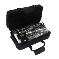 Wholesale Classical falling tune B clarinet drop B key nickel plated playing instrument