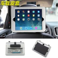 automotive covers - Automotive Car Heardrest Mount Leather Holder Flip Case Cover For iPad
