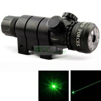 air gun box - mw nm Green Laser Sight Tactical Air Rifle Scope Switch Gun Mount with Box Set With Battery and charger