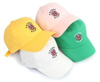 achat en gros de bombes anciennes-2016 Nouvelle marée marque vintage CHERRY BOMB zombie 6 panneau casquette de baseball pour hommes et femmes casquette polos chapeau de sport chapeaux de snapback de golf bon marché