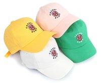 achat en gros de bombes anciennes-2016 Nouvelle marque de marée vintage CHERRY BOMB zombie 6 bonnet de baseball pour homme et femme casquette polos chapeau de sport chapeau snapback de golf bon marché