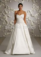 Wholesale 2016 Hot sale Promotion Natural long sleeve dress Lk507 Taffeta fabric bridal wedding dresses corset brides wedding dresses