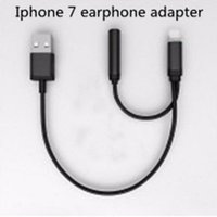audio connectors and adapters - Iphone plus in light to USB AND Female Audio Adapter Connector Cable Converter Cord For Iphone