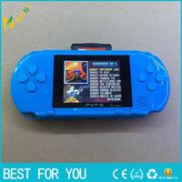 achat en gros de jeux vidéo pour les enfants-PXP3 16 bits enfants classiques de poche numérique console de jeux vidéo PVP PSP pour les enfants