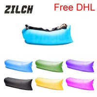 Sleeping Bags beer furniture - Free DHL CM Outdoor Inflatable Couch Camping Furniture Sleeping Compression Air Bag Lounger Hangout Fabric kg Bearing