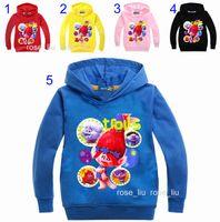 as photo b boy jacket - 34 Style Boys girls Trolls Hoodies Sweatshirts New children trolls Long sleeve cotton Hoodie jacket kids coat years B
