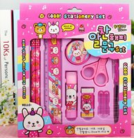 Wholesale Supplies stationery set Kindergarten children Christmas gift birthday present students learning the prize