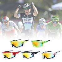 Obaolay Polarized Mans Mountain Bike Goggles Lunettes de soleil de sport de sport Livraison gratuite