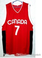 basketball custom jerseys cheap - Factory Outlet Cheap STEVE NASH TEAM CANADA BASKETBALL JERSEY Embroidery Stitched Custom Any Name And Number JERSEYS