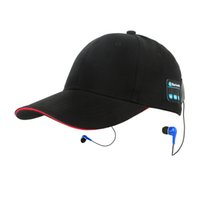 Ball Cap answer ball - 2017 summer hat with earphone bluetooth technology for hand free listening and answering
