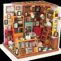 Unisex assemble furniture - 3D Stereo Puzzle Puzzle Assembling Model DIY Hut Adult Birthday Creative Gift dollhouse furniture model toy house miniature wooden houses
