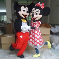 Wholesale Factory direct selling High quality NEW Mickey Mouse mascot costume Mickey mascot Minnie mascot