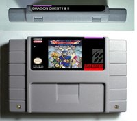 Wholesale SNES Game card RPG Game Battery Save Dragon Quest
