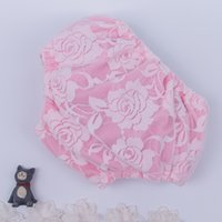 Wholesale Infant Babys Rose Lace Shorts Cute Toddle PP Shorts Sweet Children Summer Girls Shorts For Y