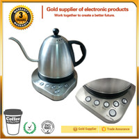 Wholesale 1000ml STRIX controller Stainless Steel gooseneck kettle Smart kettle with Separate base used in or Voltage Hz