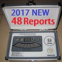 al por mayor in spanish-2017 Nueva 4ta generación 48 informes 4 Analizador de resonancia magnética de Quantum del núcleo con el informe comparativo Inglés Español Amway DHL libre