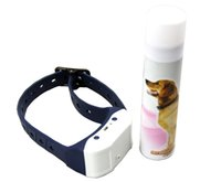 Wholesale NEW reachargble Bark deterrents electric pet fence remote pet training collar