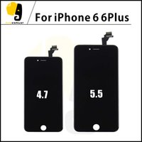 Wholesale Grade A Original Black White LCD Display Touch Digitizer Complete Screen with Frame Full Assembly Replacement for iPhone iphone plus