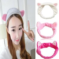 band cats - Cat Ears Headdress Headbands Hair Head Band Hairbands Party Gifts Headwear Ornament Trinket Hair Accessories for Women Girls Makeup Tools