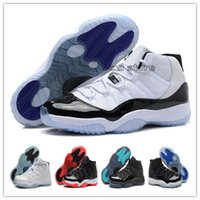 basketball rubber bands - Retro XI Bred Legend Blue Concord Space Jam Basketball Shoes Men Sports Shoes Basketball Sneakers Women Men Athletics With Box