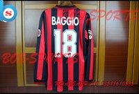Wholesale 96 season Baggio red color jerseys player version