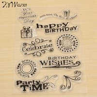 accounting gift cards - Brand New Transparent Clear Stamp Mix Flower Pattern For Scrapbooking Album Card Making Hand Account Decoration DIY Craft Gift