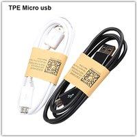 achat en gros de meizu phone-Téléphone portable Android TPE Câble Micro USB Chargeur de synchronisation de données 2A Ligne de chargement rapide V8 1m pour Xiaomi redmi Meizu Samsung Huawei iPhone