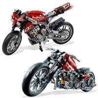 Wholesale Decool Lepin Technic Motorbike Motorcycle Car building bricks blocks toys for children Boy Game Gift Bela for children