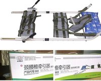 Wholesale The human body stretcher Cervical lumbar traction bed Cervical hyperplasia lumbar disc towing household cervical stretcher
