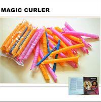 Wholesale 55cm set DIY MAGIC Leverag Hair Curler Roller Circle Hair Styling Perm hot sale set