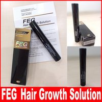 Wholesale FEG Hair Growth Solution for Regrow Missing Hair Cure Loss Problem Alopecia Thinning Hair Treatment ml
