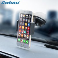 auto glass suction cups - Universal Mobile Phone Car Holder Gps Auto Glass Windshield Mount Stand Suction Cup Sticky Support Telephone Voiture