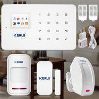 anti theft alarm home - KERUI android ios Phone APP Control Alarm Security gsm alarm Systems Home Office Alarmes for home house Anti theft system