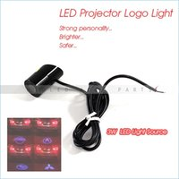 Wholesale Universal Rear W LED Logo Projector Light For All Vehicles
