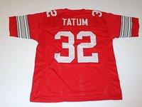Wholesale Jack Tatum Ohio State Buckeyes Throwback jersey shirts size small S xl