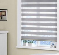 Wholesale colorful electric or manual blackout zebra blinds