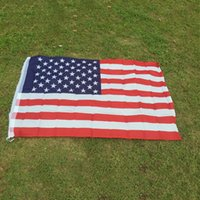 Wholesale New Arrival Jumbo x5 American Flag USA US FT Polyester Be Proud Show off Your Patriotism
