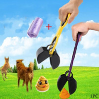 Wholesale Pet Dog Cat Waste Pooper Scooper Excavator Poo Grabber Pick Dung Garden Waste Cleanup Your Best Choice