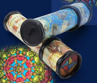 amazing kaleidoscope - The large rotating kaleidoscope magic amazing interior with a paper tube Wanghua kindergarten children toys