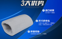 Wholesale Weightlifting wristbands Absorb sweat towel exercise wristbands colored men and women Basketball fitness high grade cotton wristba