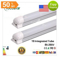 Wholesale Integrated m ft w Led T8 Tube towns SMD2835 Leds High Bright light lm v fluorescent lighting