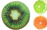 Wholesale New Creative Cute D Print Summer Fruit PP Cotton Office Chair Back Cushion Sofa Throw Pillow Home Decor