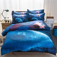 Wholesale Fast selling Dunhuang home textile star Nebula four sets of bedding bedding explosion D foreign trade