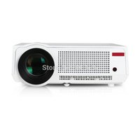 Gaming amazing support - Amazing Lumens projector HD P LCD Panel LED projector Support AV USB HDMI VGA Best Home Theater Proyector Beamer