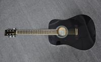 Guitarra acústica 41 'Todas las maderas de Blak Basswood para principiantes Estándar de exportación de la marca Alemana EN STOCK Guitarra más barata china