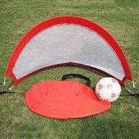 Wholesale Kids Football Goal Children Mini Pop Up Soccer Training Net Portable Foldable Football Training Target Net VE0220