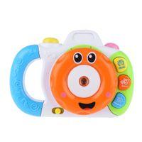 Wholesale Baby Cartoon Mini Shining Projection Sounding Camera Intelligence Toy Developing Children Imagination and Creativity
