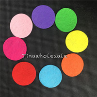 appliques felt - 1000PCS quot colorful round felt pads for flower and brooches back mm round circle felt patches Felt mm Circle Appliques