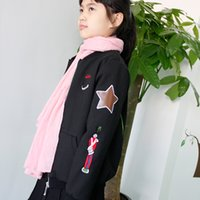 2T-9T babies coat - New Baby Coat Kids Clotheing Girls Jackets TOP Quality Cotton Woolen Loog Sleeve Velvet Thickening Spring Winter Clothing Fashion Outwear